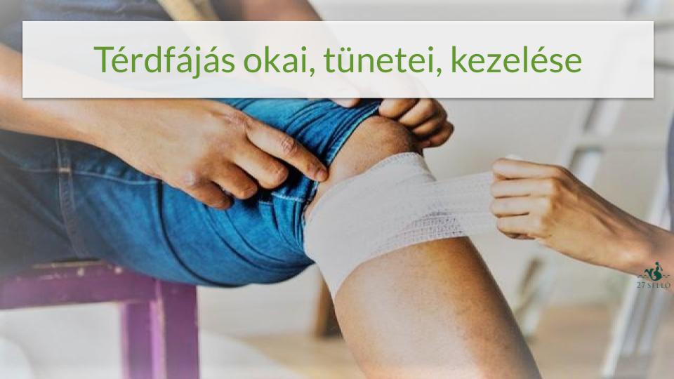 a csípőízület fájdalma a térdre adódik