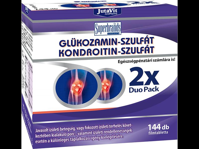Jutavit Glükozamin-Kondroitin-MSM filmtabletta 144x
