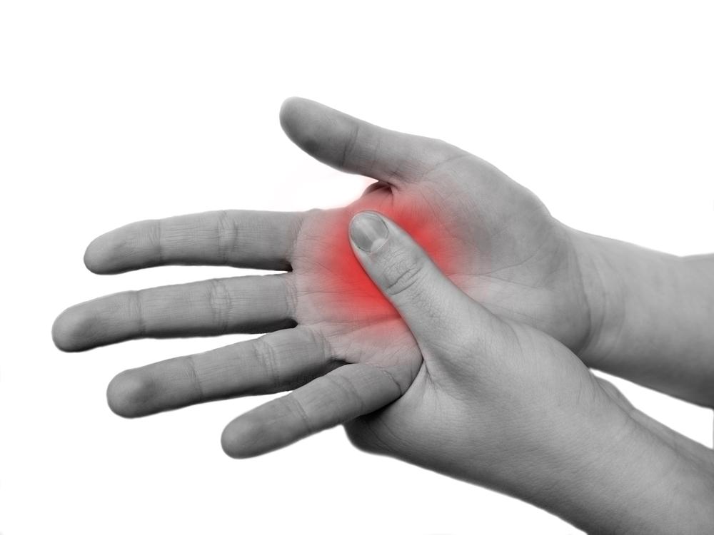 tenyér ízületi fájdalom