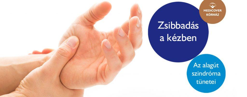 ujjfájdalom zsibbadás csípő-disztrófia kezelés