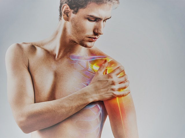 vállfájdalom és ropogásos kezelés